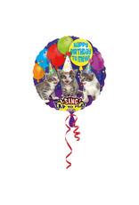 Amscan folieballon singing balloon cats 71 cm