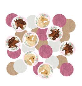 Amscan beautiful horses papieren confetti 14 gram
