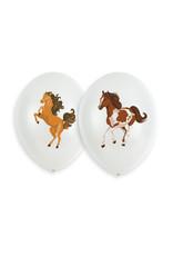 Amscan beautiful horses latex ballonnen 6 stuks