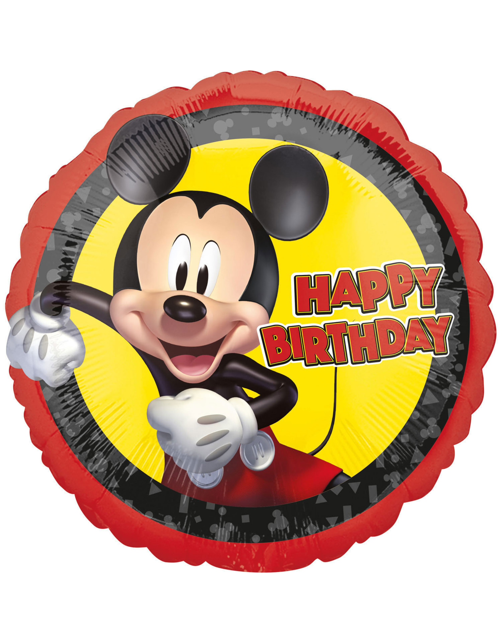 Amscan folieballon Mickey Mouse happy birthday 43 cm