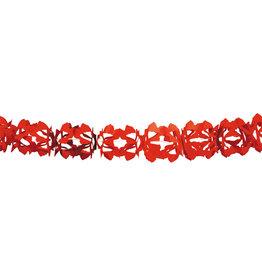 Papieren slinger hoku rood
