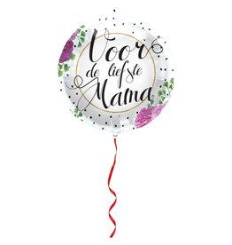 Folat folieballon voor de liefste mama 45cm