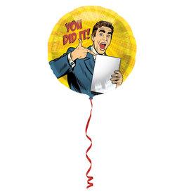Folat folieballon you did it! 45 cm