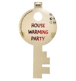 House warming party deurbord