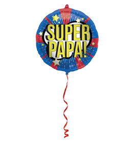 Folat folieballon super papa! 45 cm