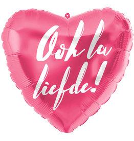 Folat folieballon Ooh la liefde! 45 cm