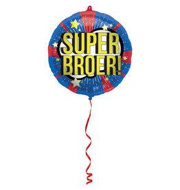 Folat folieballon super broer! 45 cm