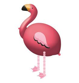 Amscan walking balloon flamingo 71 x 83 cm