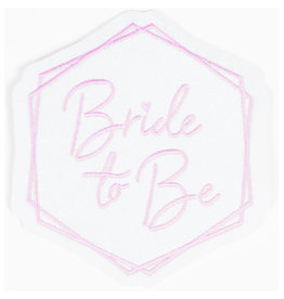 Amscan Hen party Iron on patch (Bride to Be) 1 stuk