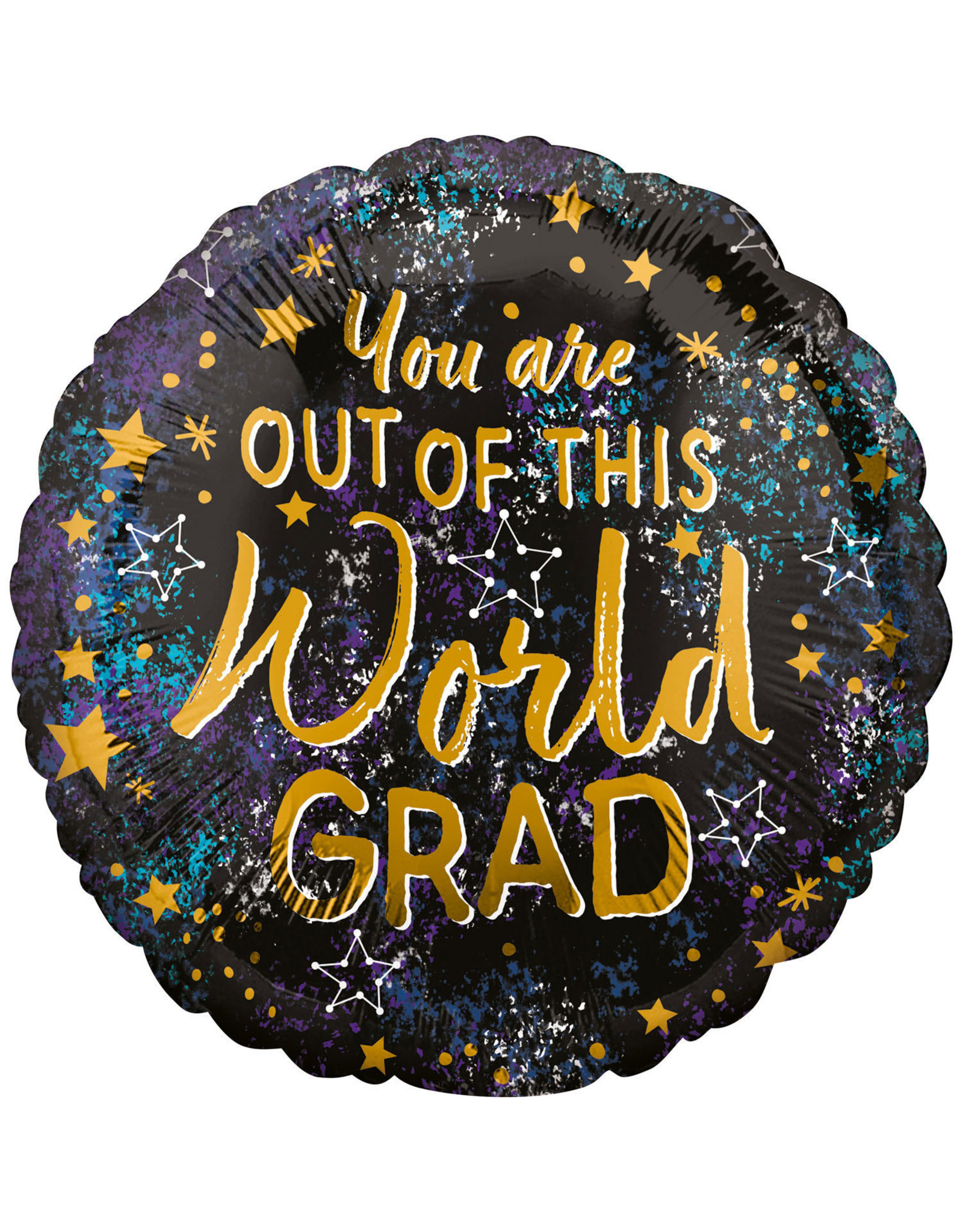 Amscan folieballon you're out of this world grad 43 cm
