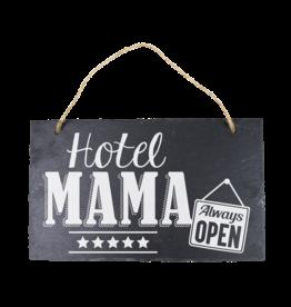 Leisteen bord Hotel Mama