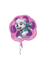 Amscan folieballon supershape paw patrol Skye & Everest 63 x 58 cm