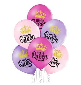 Belbal latex ballonnen little queen 6 stuks