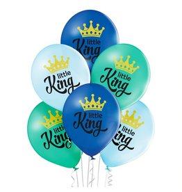 Belbal latex ballonnen little king 6 stuks