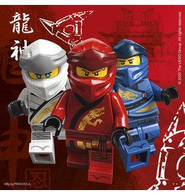 Lego Ninjago servetten 20 stuks 33 x 33 cm