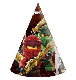 Lego Ninjago feesthoedjes 6 stuks