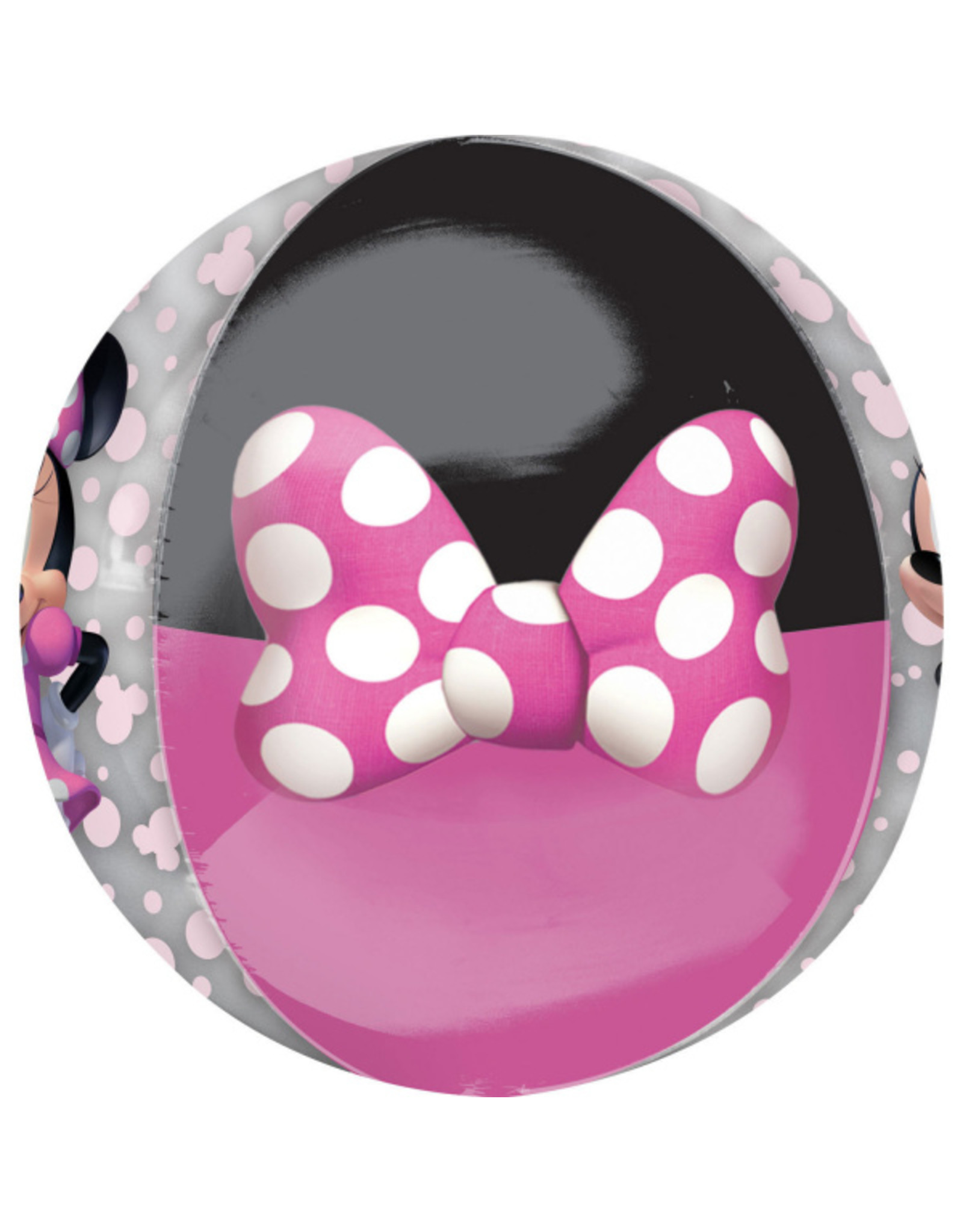 Amscan folieballon orbz Minnie Mouse 38 x 40 cm