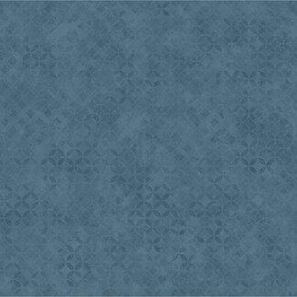 Dutch Wallcoverings Hexagone/Couleurs dessin blauwgrijs - L576-01