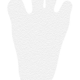 Kleine Wolke Antislip mini Fuß wit 6st.