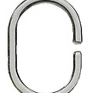 Kleine Wolke Ringen voor douchegordijn transparant 12st.
