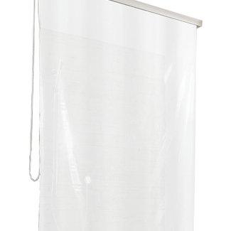 Kleine Wolke Douchegordijn voor Rollo streep wit 128x240cm