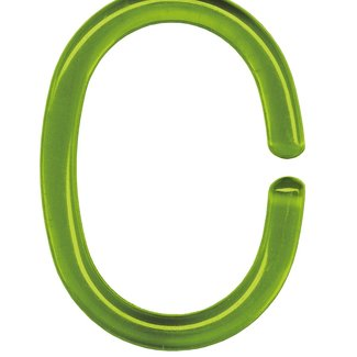 Kleine Wolke Ringen voor douchegordijn donkergroen 12 st.
