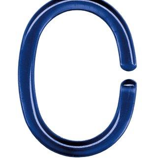 Kleine Wolke Ringen voor douchegordijn donkerblauw 12 st.
