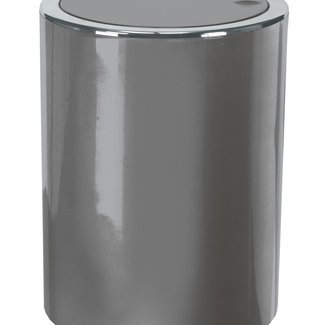 Kleine Wolke Afvalemmer Clap Mini platinum 1,5 ltr