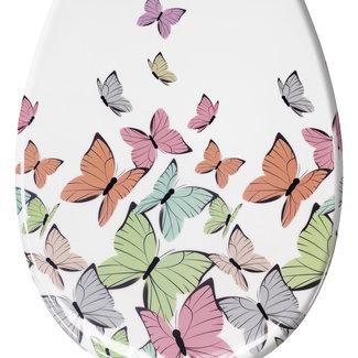 Kleine Wolke Toiletbril Butterflies 37x45cm