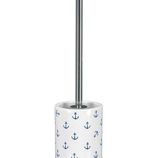 Kleine Wolke Toiletborstel Anchor donkerblauw