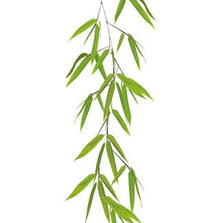Kleine Wolke Static Deco Bamboo groen 23x68cm
