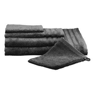 Kleine Wolke Badhanddoek Royal antraciet 50x100cm