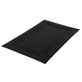Kleine Wolke Douchemat Lodge zwart 50x80cm