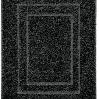 Kleine Wolke Douchemat Plaza zwart 60x80cm