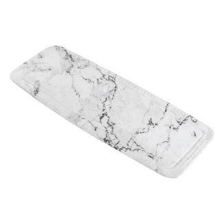 Kleine Wolke Badmat Marble Antraciet
