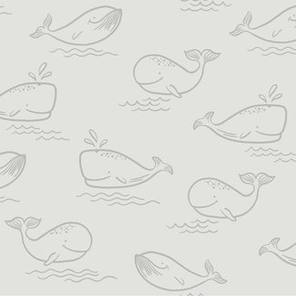 Dutch Wallcoverings Make Believe Whale of a Time grijs - 12521