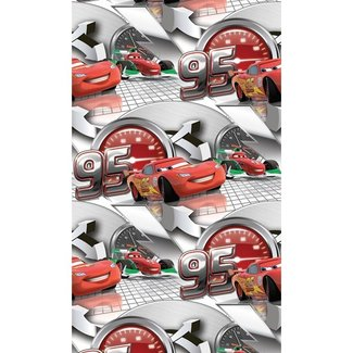 Dutch Wallcoverings AG Disney Cars grijs - WPD9704
