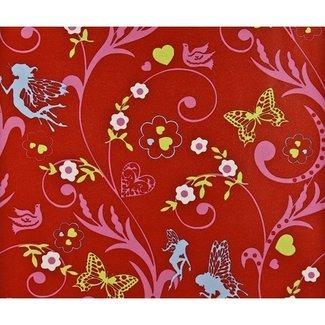 Dutch Wallcoverings Papier engel rood/roze - 1161-4