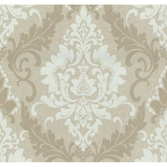 Dutch Wallcoverings Casual Chic dessin beige/creme - 13351-40