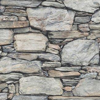 Dutch Wallcoverings Trilogy Stone Wall grijs - 22304