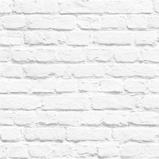 Dutch Wallcoverings Freestyle steenstrip wit - 102539