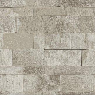 Dutch Wallcoverings Palma steen beige - 18121