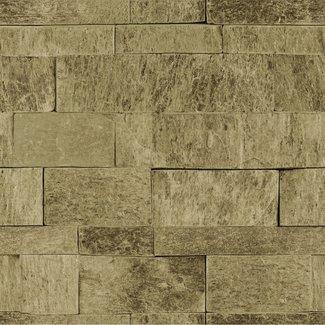 Dutch Wallcoverings Palma steen beige - 18122