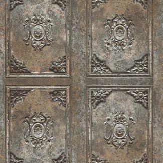 Dutch Wallcoverings Horizons barok panelen bruin - L427-08