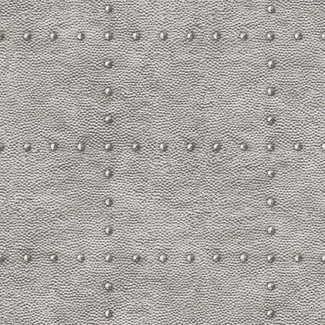 Dutch Wallcoverings Restored Hammered Metal zilver - 24009