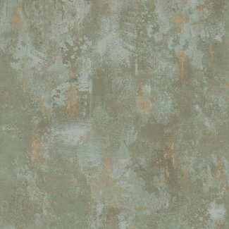 Dutch Wallcoverings Textured Plains beton groen/beige - TP1010