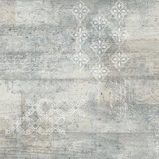 Dutch Wallcoverings Vintage beton/print grijs - 17307