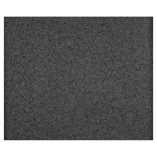 Dutch Wallcoverings Schuimvinyl glitter uni zwart - 1636-53