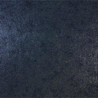 Dutch Wallcoverings Galactik uni donkerblauw - L722-01