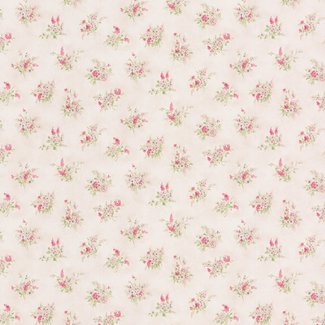 Dutch Wallcoverings Dollhouse 3 Tatianna Sprig roze/paars - 22134